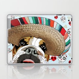 Cinco de Bulldog Laptop & iPad Skin