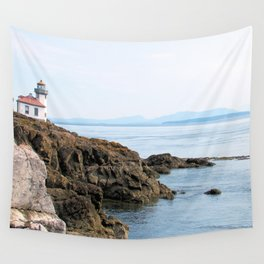 Lime Kiln Lighthouse Wall Tapestry
