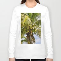palm trees Long Sleeve T-shirts featuring Palm Trees by Cheryl - DevilBear Photography