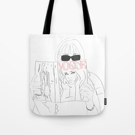 Anna Fashion Editor Tote Bag