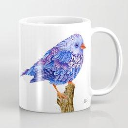 Flowerly Serene Sophia. Purple Edition Coffee Mug