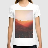 mars T-shirts featuring Mars. by Daniel Montero