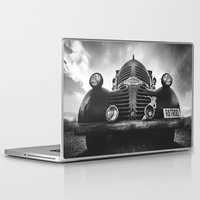 rat Laptop & iPad Skins featuring The rat by HappyMelvin
