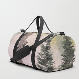 Bears In The Blue Ridge Mountains Duffle Bag