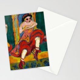 Ernst Ludwig Kirchner - Czardas dancers, 1908 Stationery Cards
