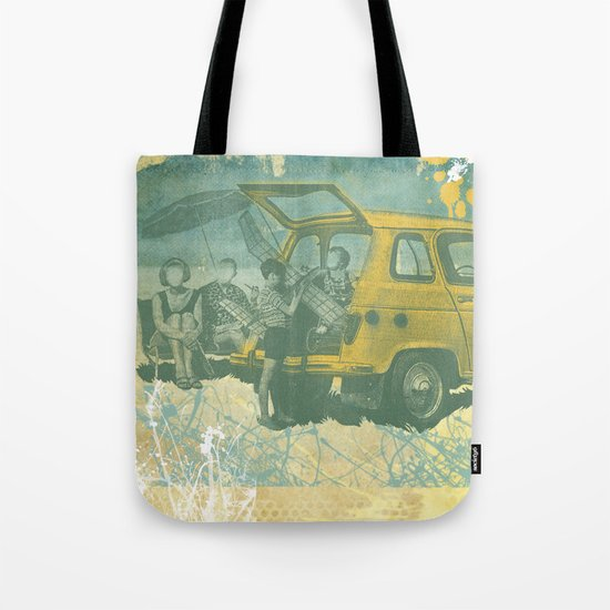 when i was young _ model planes and station wagons Tote Bag