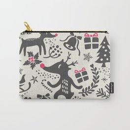Winter Pattern IX Carry-All Pouch