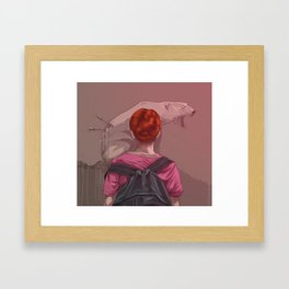 The Stories Framed Art Print