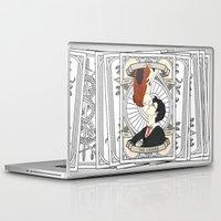 harry potter Laptop & iPad Skins featuring Harry Potter Tarot by Luke Eckstein
