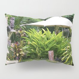 Fruit Stand in Tropical French Polynesia Pillow Sham