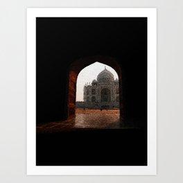 Taj Mahal door - 190 Art Print
