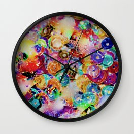 5 fruits et légumes par jour Wall Clock