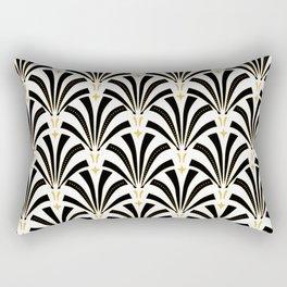 ArtDeco Palmettos Rectangular Pillow