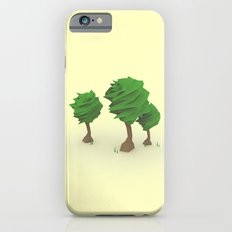 Low Poly Trees iPhone 6 Slim Case