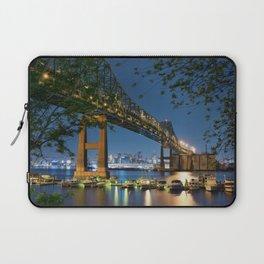 Tobin Bridge Laptop Sleeve