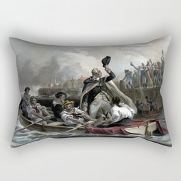 Washington's Adieu To His Generals Rectangular Pillow