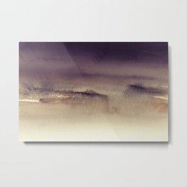 Sky Watercolor Texture Abstract 394 Metal Print