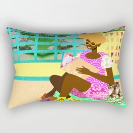 Kitten Room Rectangular Pillow