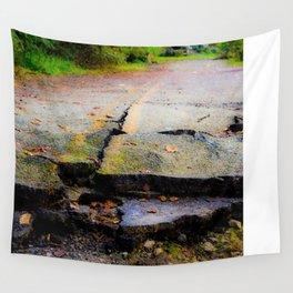 Broken Road Wall Tapestry