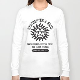 SUPERNATURAL WINCHESTER AND SONS Long Sleeve T-shirt