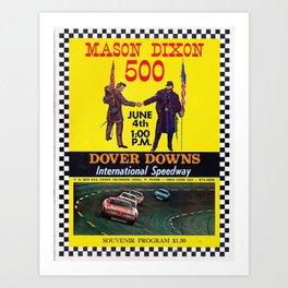International Speedway Art Print