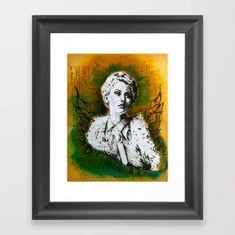 Wing Series Three (Angel) Framed Art Print