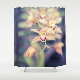 Hawaiian Orchid Shower Curtain