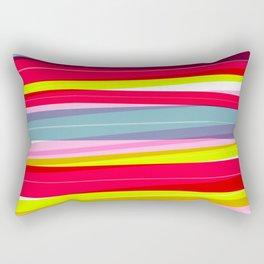 Rainbow Stripe 01 Rectangular Pillow