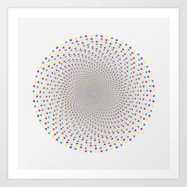 GodEye12 Art Print