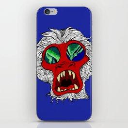 """Arctic Monkey"" by Virginia McCarthy iPhone Skin"