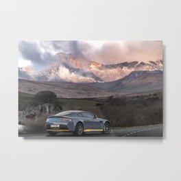 Aston Martin V12 Metal Print