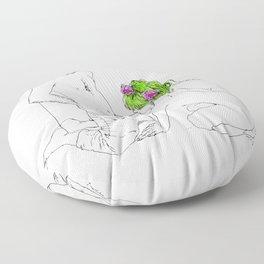 Nudegrafia - 008 Floor Pillow