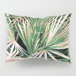 Palms #nature #painting Pillow Sham