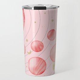 The Pink Solar System Travel Mug