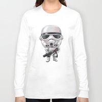 storm trooper Long Sleeve T-shirts featuring STORM TROOPER by Leoren