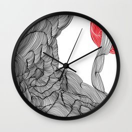 Mars View Wall Clock