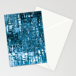 Circuitry Abstract Stationery Cards