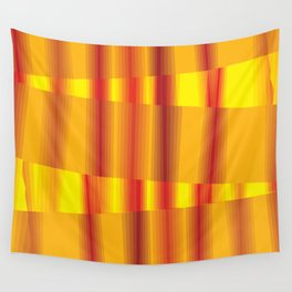 Through the Fire - Currere Per Ignem Wall Tapestry