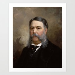 President Chester A. Arthur Painting Art Print