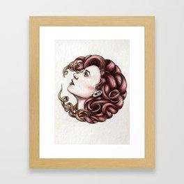 Hairball 01 Framed Art Print