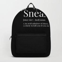 Sneakerhead Definition (Blackout) Backpack