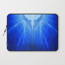 Vikings Valkyrie Wings of Protection Storm Laptop Sleeve