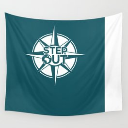 Step Out Wall Tapestry