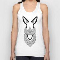 rabbit Tank Tops featuring Rabbit by Art & Be