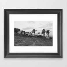 House on the hill Framed Art Print