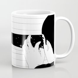 Spying on the stars Coffee Mug