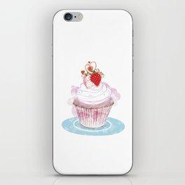 Strawberry Cupcake  iPhone Skin