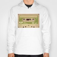 tape Hoodies featuring Mix-Tape by @DrunkSatanRobot