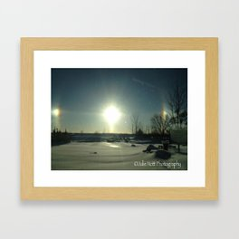 Sundog Framed Art Print