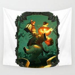 Jack-O-Lantern Wall Tapestry